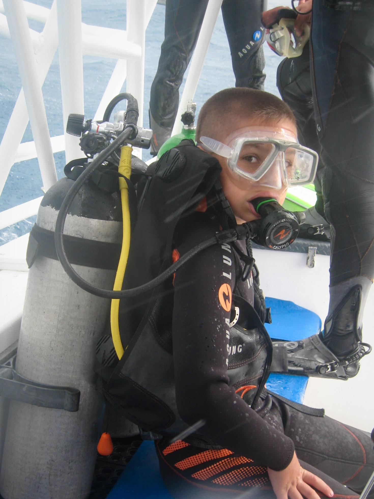 Discover Scuba Diver - AQUASPORT DIVING
