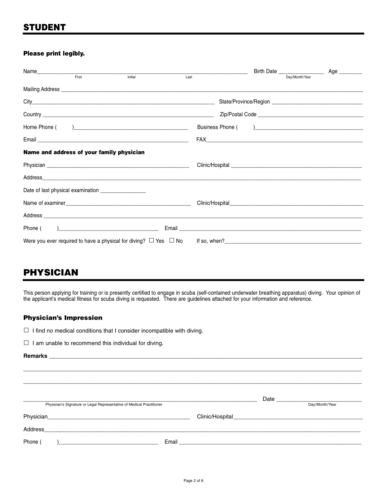 Medical form – AQUASPORT DIVING on medical questionnaire, medical charts, medical documents, medical schedule, medical records, medical insurance, medical files, medical checklist, medical treatment, medical information, medical documentation, medical paperwork, medical signs, medical privacy policy, medical history, medical reports, medical logo, medical papers, medical backgrounds, medical flyers,