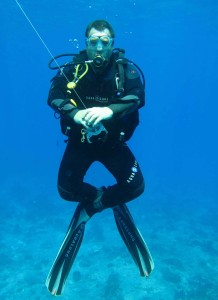 Spécialités Flotabilité padi plongée Lanzarote