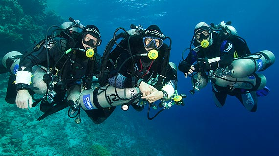 Padi tec 40 aquasport diving - Tech dive arenzano ...