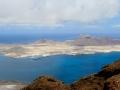 Vue sur l'île de la Graciosa